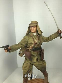 1/6 DID IMPERIAL JAPANESE ARMY LT. COL WithKATANA SWORD & NAMBU WW2 DRAGON BBI 21ST