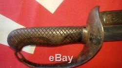 100% Original World War II Japanese Imperial Army Officers Calvary Sword