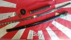 100% Original World War II Japanese Imperial Army Officers Signed Samurai Sword