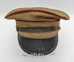 Antique Imperial Japanese Army WW2 Military Cap World War II Set of 2 Hats