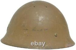 Beautiful Complete Japanese Ww 2 Imperial Army Helmet Great Original Conditions