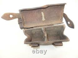 Former Japanese Imperial Army Ammunition Pouch For Type 38/99 Rifle Military Ww2