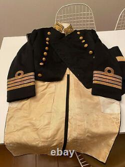 Imperial Japanese Navy IJN Full Dress Uniform Bicord Epaulettes Captain WW2