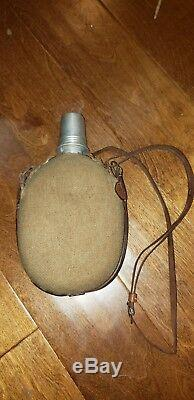 Japanese Army Canteen Water bottle WWII Certificated Mark WW2 IMPERIAL JAPAN