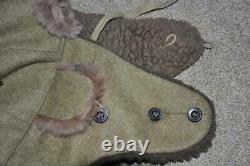Japanese Army WW2 Military Winter Hats 1937 Antique Imperial Japan Small Rare R6