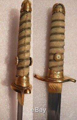 Japanese IMPERIAL HOUSEHOLD Dirk. World War II period. Extremely RARE