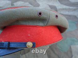 Japanese Officer Schirmmütze World Japan WW2 Imperial Japan Army Hat Cap
