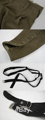 Japanese antique World War 2 WW2 Imperial Japan Army Officer Hat pants SET