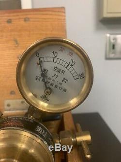 Japanese imperial Navy WWII Submarine/Battleship brass gauges valves Spectacular