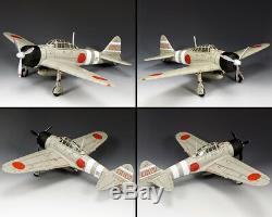 King & Country Ww2 Japanese Navy Jn046 Imperial Japanese Navy Am6 Zero Mib