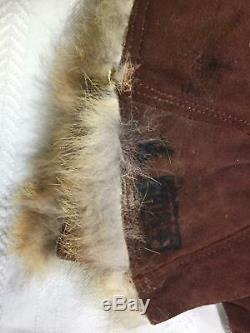 Mint Original WWII Imperial Japanese Army PILOT Fur Lined Flying Gloves
