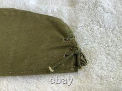 Original Near Mint WWII Japanese Imperial Navy Field Cap Hat Stamped