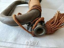 Original WW2 II Japanese Imperial Military Brass Bugle Trumpet Japan-d0207