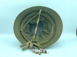 Original WW2 Imperial Japanese Army Iron Helmet from Japan #04