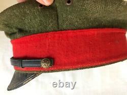 Original WW2 Imperial Japanese Army Officers Wool Visor Cap