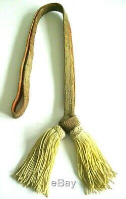 Original WWII Imperial Japanese Army General's Sword Tassel/Knot/Portepee