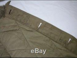 Original WWII Imperial Japanese Army Tanker Winter Jacket