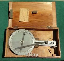 Original WWII Imperial Japanese Navy Aviation Paddle Type 3 Flight Computer
