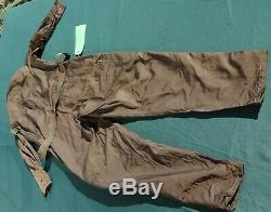 Original WWII Imperial Japanese Navy Aviation Pilot Flight Suit with Labels