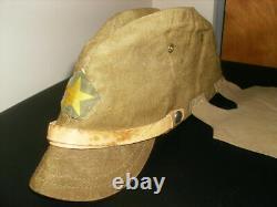 Original Ww2 Imperial Japanese Army Tropical Cap