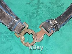 Original Ww2 Imperial Japanese Officer's Sword Belt