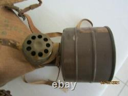 Original Wwii Imperial Japanese Army Gasmask With Filter