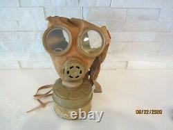 Original Wwii Imperial Japanese Army Gasmask With Filter And Carry Bag