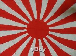 Pre-Ww2 Japanese Imperial RARE ARMY Flag Rising Sun Japan Asahi Rare 90x70 cm