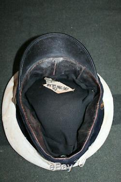 Rare Original WW2 Imperial Japanese Navy (IJN) Officer's Visor Cap, Cover & Case