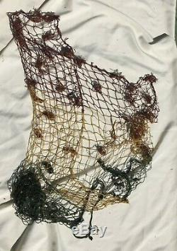 Rare Original WWII Imperial Japanese Army Camouflage THREE COLOR Body Net