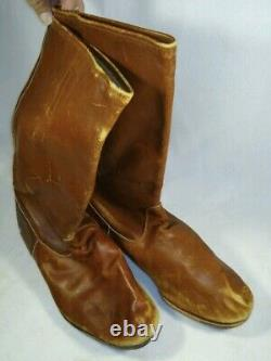 Rare Original Wwii Imperial Japanese Army Air Force Pilot Flight Boots