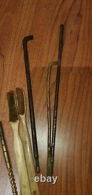 Rare WWII IJA Imperial Japanese Army Issue Arisaka Field Cleaning Kit WithBrushes