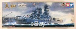 TAMIYA 1/350 SHIPS WW2 Imperial Japanese Navy IJN Battleship YAMATO boat model
