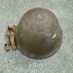 Vintage Imperial Japanese Army Iron helmet WW2 WWII original from JAPAN