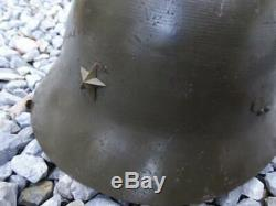 Vintage Imperial Japanese Army Iron helmet WW2 WWII original from JAPAN #2