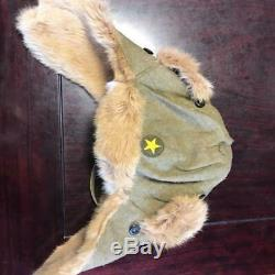 Vintage Imperial Japanese Army Winter cap WW2 WWII original from JAPAN