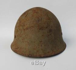 Vintage Original Wwii Japanese Imperial Army Helmet Vet Bring Back Fast Ship