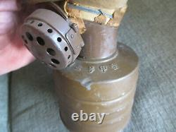Vintage Original Wwii Japanese Japan Imperial Army Military Combat Gas Mask