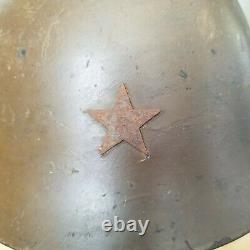 WORLD WAR TWO ORIGINAL WW2 Imperial Japanese ARMY T90 COMBAT Helmet