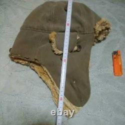 WW-2 Imperial Japanese military Winter cap real military