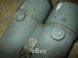 WW II Imperial Japanese Navy BIG EYE 15x80 SHIPBOARD BINOCULARS BOXED