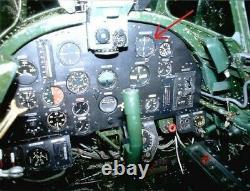 WW II Imperial Japanese Navy MODEL 2 KAI PRECISE ALTIMETER A6M Zero M6A