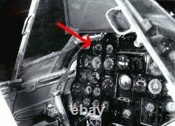 WW II Imperial Japanese Navy Type 1 Gou CYLINDER HEAD TEMP GAUGE A6M D4Y