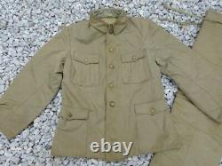 WW2 Former Imperial Japanese Army military uniform jacket pants 1943(SHOWA18)