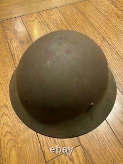 WW2 Former imperial Japanese Army Iron Helmet Early model