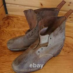WW2 Former imperial Japanese Army Type 5 Shoes Showa15 (1940)