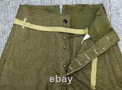 WW2 Former imperial Japanese Army winter pants showa19(1944)