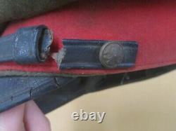 WW2 II Japanese Imperial Army visor cap with kanji name inside