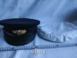 WW2 II Japanese Military Imperial NAVY Soldier's uniform Hat Cap-d0617