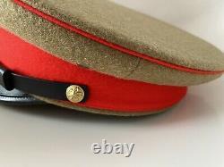 WW2 IJA Imperial Japanese Army Officer Uniform Peaked Visor Hat Cap Nakata 59